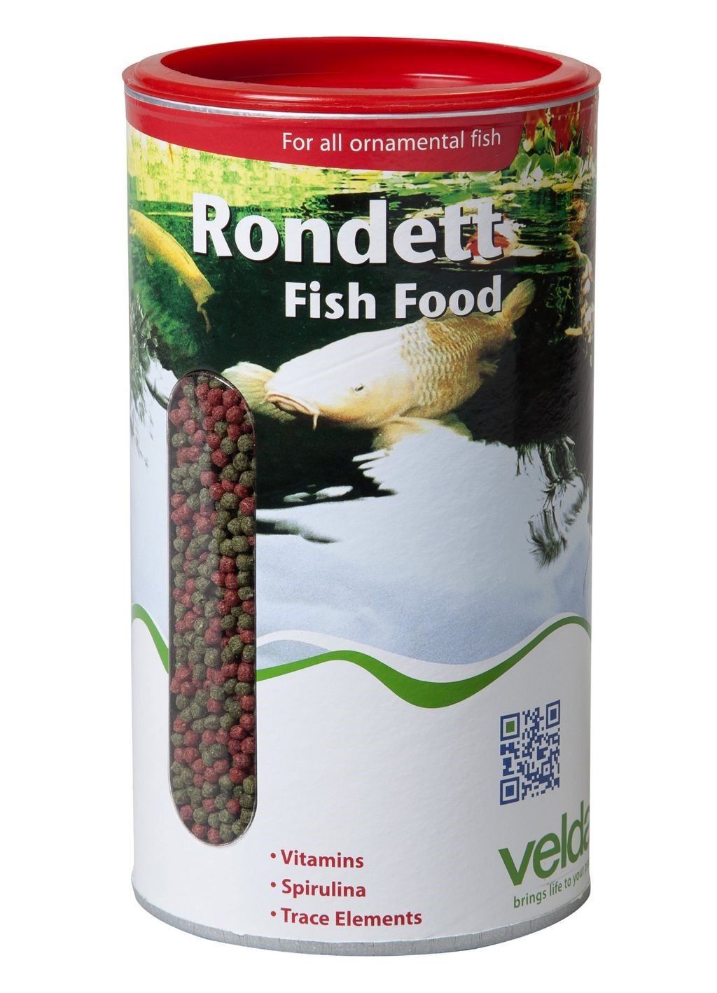 Velda  Rondett Fish Food 1,25L